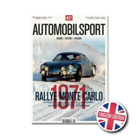 AUTOMOBILSPORT N° 27 ENGLISH EDITION 1st Quarter 2021