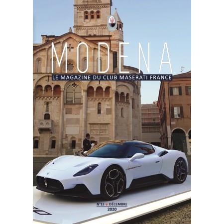 Modena n°13 Décembre 2020 - Magazine du Club Maserati France