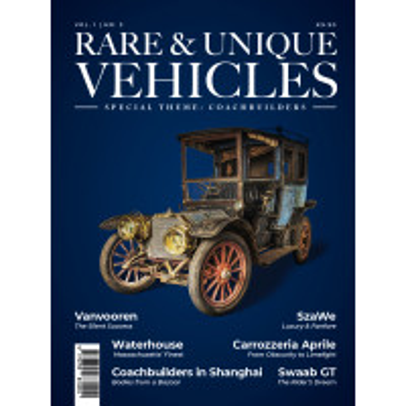 Rare & Unique Vehicles n°3