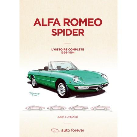 Alfa Romeo Spider 105-115 – L' Histoire complète – 1966-1994