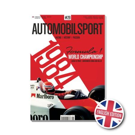 AUTOMOBILSPORT N° 29 ENGLISH EDITION 3rd Quarter 2021