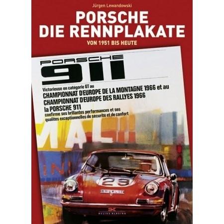 Porsche, die rennplakate