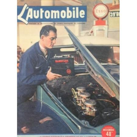 L'Automobile N°33 Décembre 1948