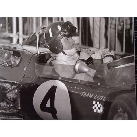 Photo grand prix d'Albi 1967 Graham Hill - Jean Dieuzaide