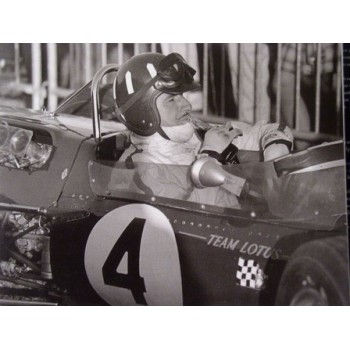 Photo grand prix d'Albi 1967 Graham Hill - Jean Dieuzaide