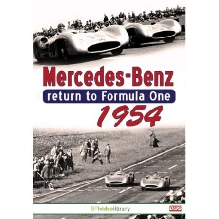 Mercedes-Benz Return to Formula One 1954
