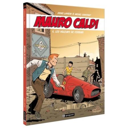 Mauro Caldi Tome 6 : Les voleurs de Ferrari