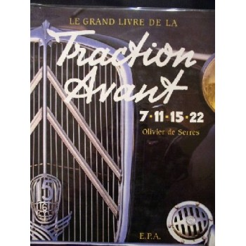Citroen Traction Avant 7-11-15-22 Le grand livre