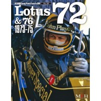 Racing Pictorial Series by HIRO No.18 Lotus 72 & 76 1973-75
