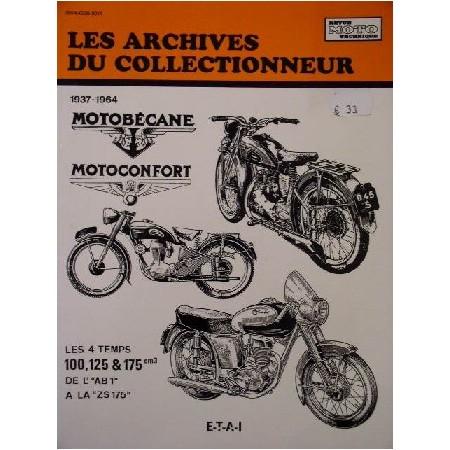 RTA Motobecane et Motoconfort 100 125 et 175 4 temps 1937-1964