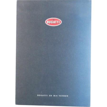 Bugatti EB 18/4 Veyron - Dossier de presse Mars 2000