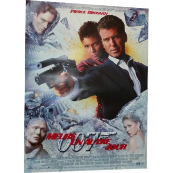 "Original poster James Bond ""Meurs un autre jour"""