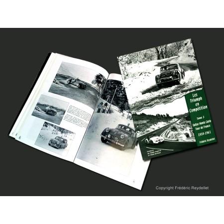 Triumph Rallye de Monte Carlo et Tour de France auto  Les Triumph en compétition tome 3