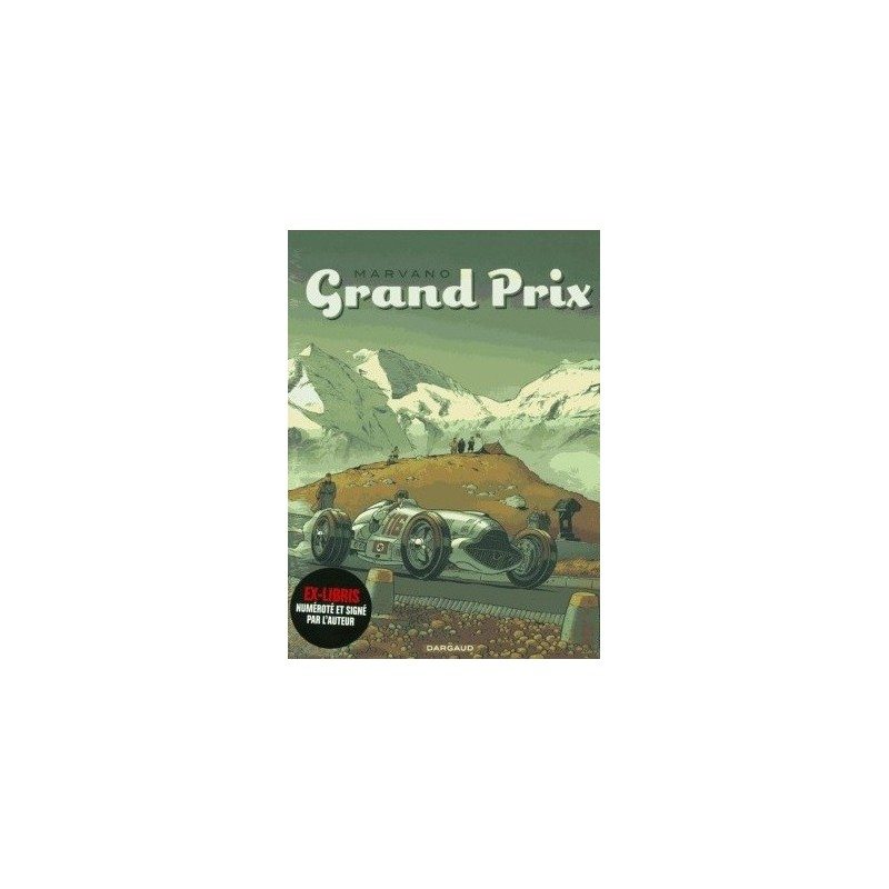 Grand Prix Marvano, Coffret 3 volumes