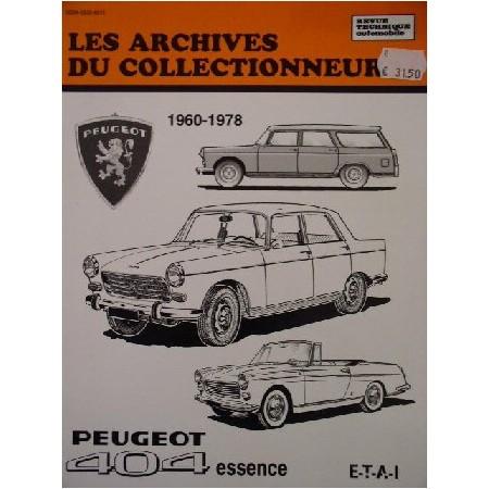 RTA Peugeot 404 essence 1960-1978