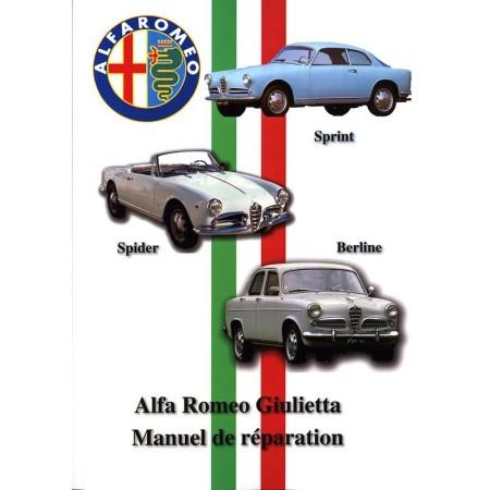 Manuel de réparation Alfa Romeo Giulietta