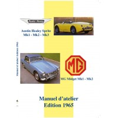 Austin-Healey Sprite & MG Midget, Manuel de réparation