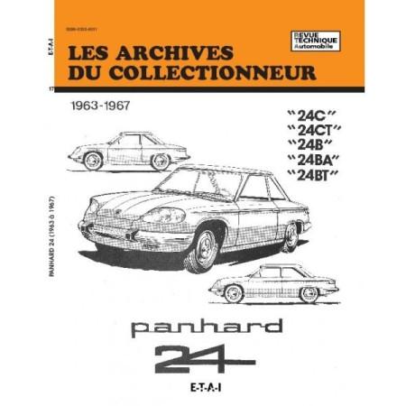 RTA Panhard 24 1963-1967 24C CT B BA BT