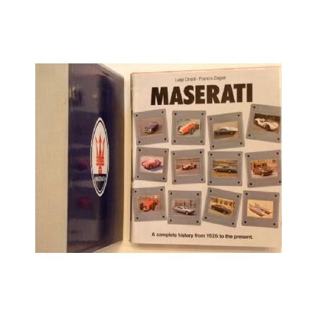 Maserati, complete history (1929-80)