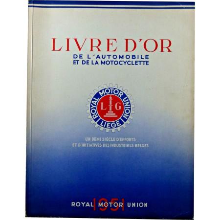 Livre d'or de l'automobile et de la motocyclette 1951