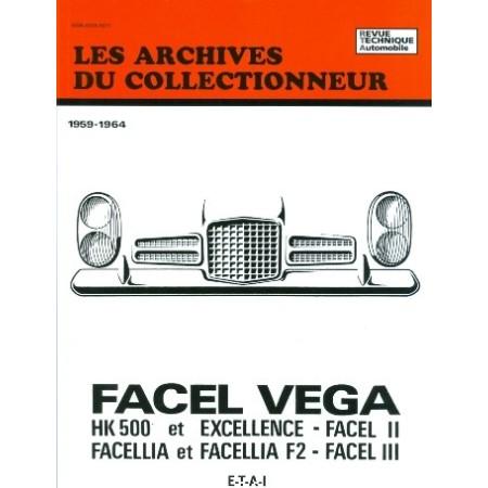 Facel Vega Hk 500 Excellence et Facellia (1959-1964)