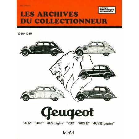 RTA Peugeot 202 302 402 1936-1939