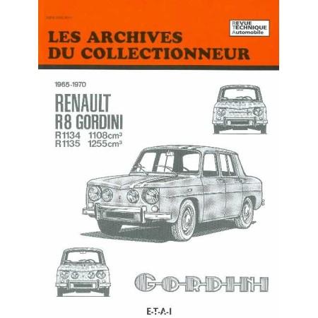 RTA Renault 8 Gordini 1965-1970