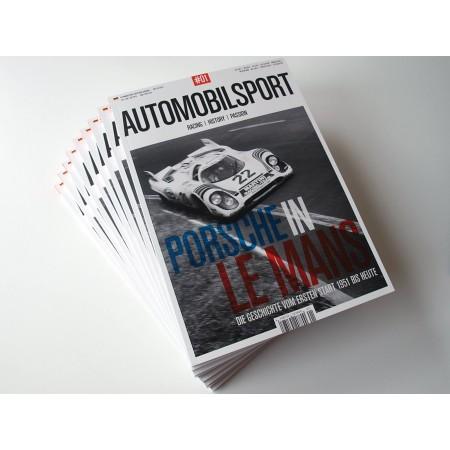 Automobilsport N° 01, English Edition Jul Aug Sep 2014