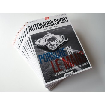 Automobilsport N° 01, English Edition Jul Aug Sep 2014