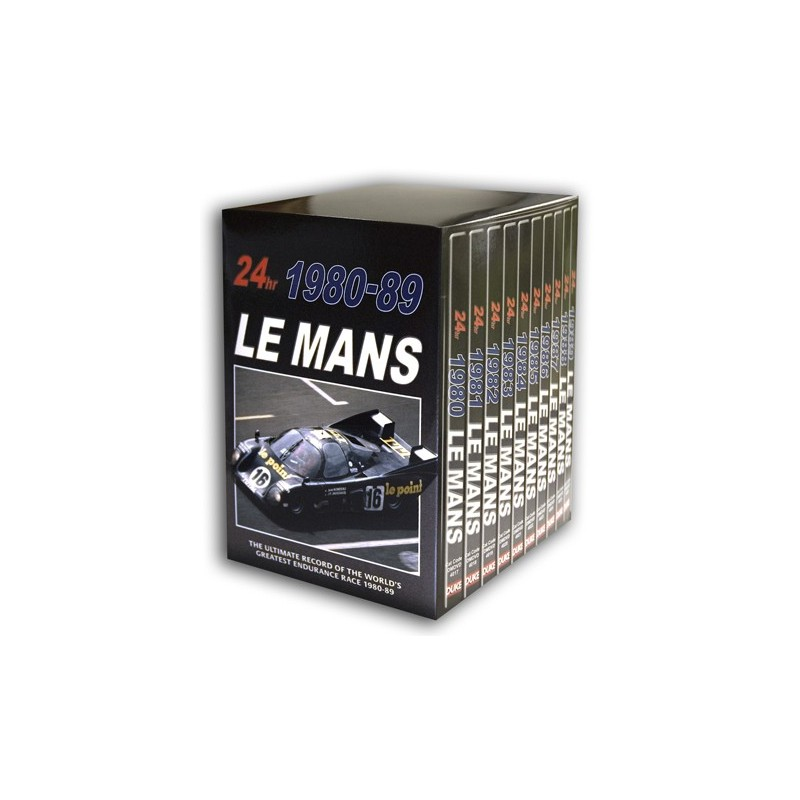 Le Mans Collection 1980 89 (10 DVD) Box Set
