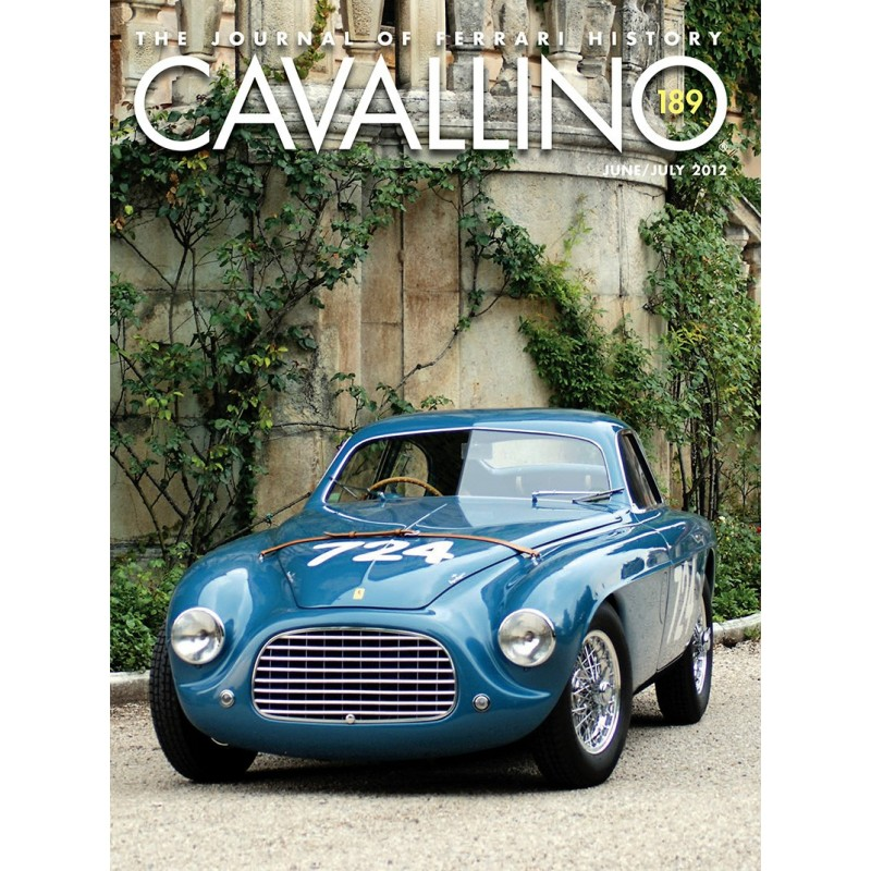 Cavallino - The journal of Ferrari history N°189 Juin/Juillet 2012