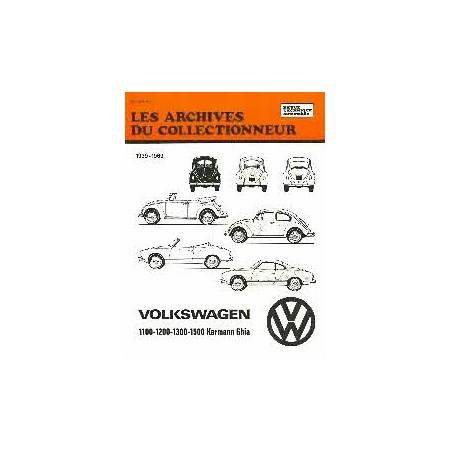 RTA Volkswagen Coccinelle et Karmann 1939-1969