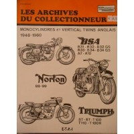 BSA Norton Triumph 1948-1960 - Revue technique