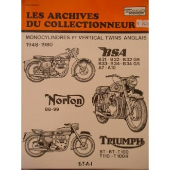 BSA Norton Triumph 1948-1960 - Revue technique