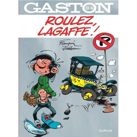 Gaston hors série tome 4 - Roulez, Lagaffe !
