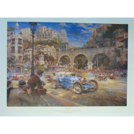 Alfredo de la Maria Grand Prix de Monaco 1931