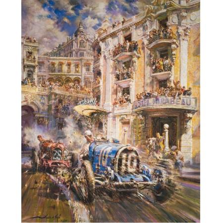 Alfredo de la Maria - Grand Prix de Monaco 1933