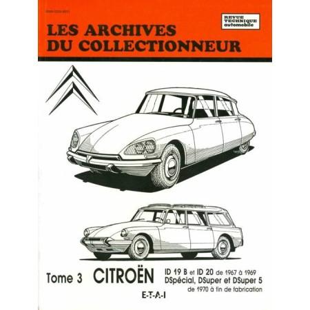 Citroën DS tome 3  - Revue Technique