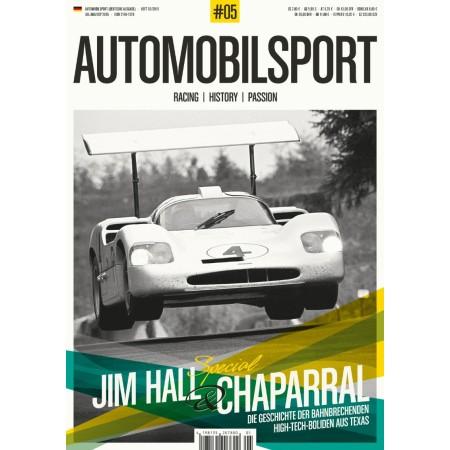Automobilsport n°5 - Jim Hall & Chaparral  (English edition)