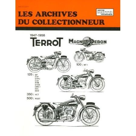 RTA Terrot 125 350 500 et Magnat-Debon 100  1947-1958