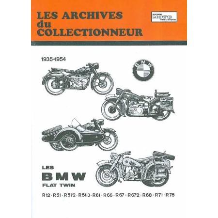 RTA BMW Flat twin R12 R51 R61 R66 R67 R68 R71 R75 1935-1954