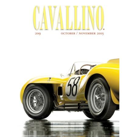 Cavallino - The journal of Ferrari history n°209 October/November