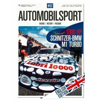 Automobilsport 07 (01/2016) - English Edition - Incl. Poster