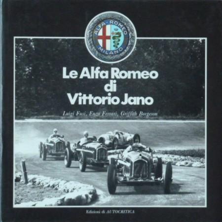 Le Alfa Romeo di Vittorio Jano