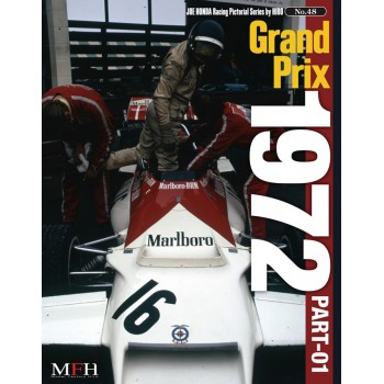 """Racing Pictorial Series by HIRO No.48 """"Grand Prix 1972 PART-01″"""