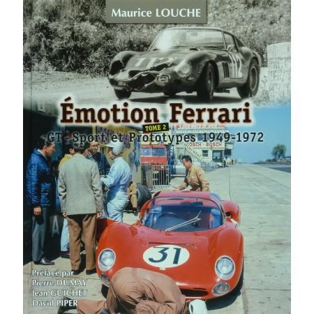 Emotion Ferrari, Tome 2, GT-Sport et Prototypes 1949-1972, Clothbound edition