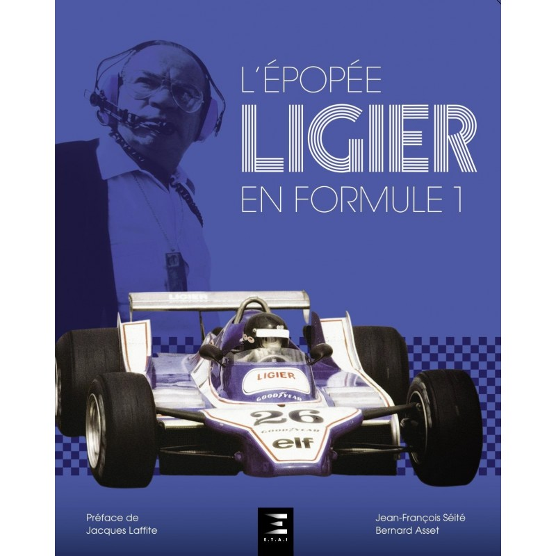 l 39 pop e ligier en formule 1 librairie motors mania. Black Bedroom Furniture Sets. Home Design Ideas