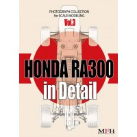 """PHOTOGRAPH COLLECTION Vol.3 """"HONDA RA300 in Detail"""""""