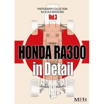 "PHOTOGRAPH COLLECTION Vol.3 ""HONDA RA300 in Detail"""