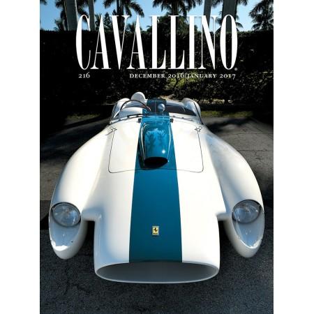 Cavallino, The Journal of Ferrari History N° 216 décembre 2016/janvier 2017